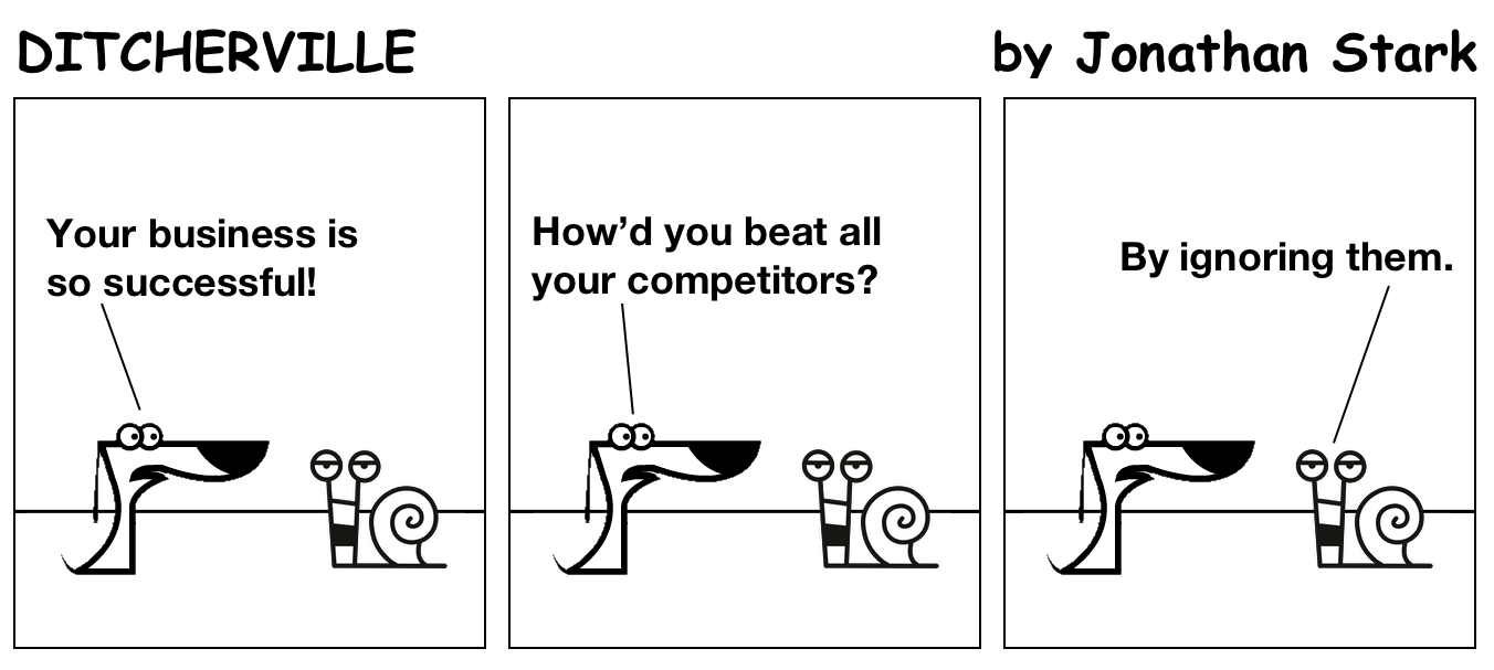How'd you beat all your competitors?